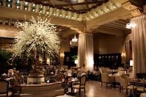 The Palm Court — The Place for High Tea.